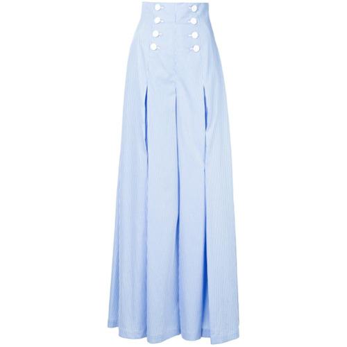 Imagen principal de producto de Sara Battaglia high waist trousers - Azul - Sara Battaglia