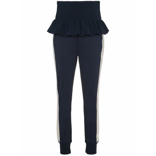 Imagen principal de producto de Ganni pantalones de chándal Presbourg - Azul - Ganni
