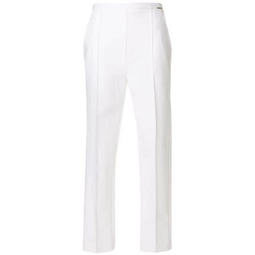 Imagen principal de producto de Elisabetta Franchi pantalones rectos - Blanco - Elisabetta Franchi