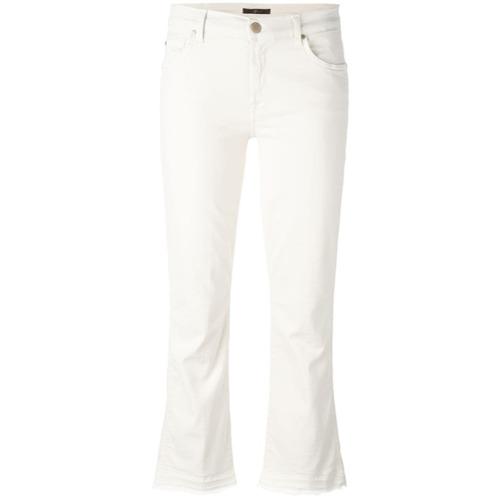 Imagen principal de producto de 7 For All Mankind pantalones capri - Blanco - 7 for all mankind