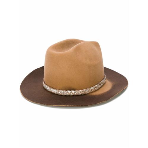 Golden Goose Deluxe Brand sombrero Tanto - Marrón