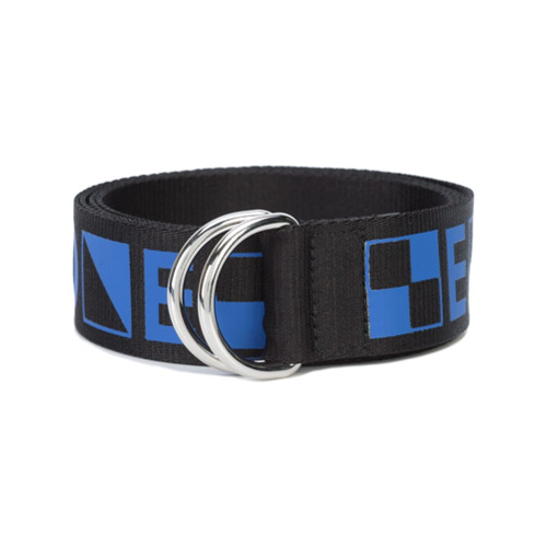 Imagen principal de producto de Proenza Schouler cinturón con detalles gráficos PSWL - Azul - Proenza Schouler