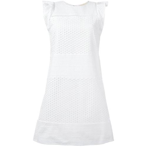 Imagen principal de producto de Michael Michael Kors vestido holgado - Blanco - MICHAEL Michael Kors