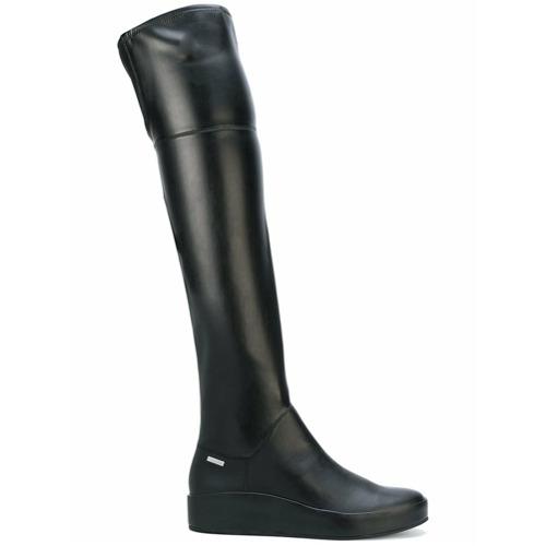 Imagen principal de producto de Calvin Klein botas hasta el muslo - Negro - Calvin Klein