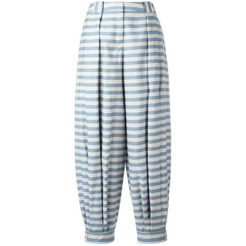 Imagen principal de producto de Jil Sander Navy pantalones tapered a rayas - Azul - Jil Sander Navy