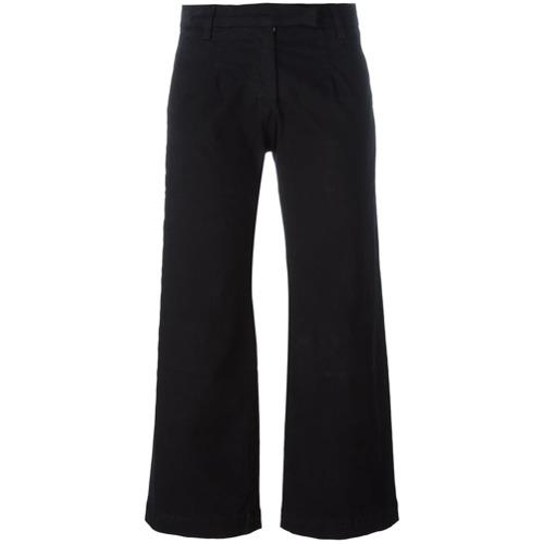 Imagen principal de producto de Current/Elliott pantalones de estilo capri - Negro - Current/Elliott