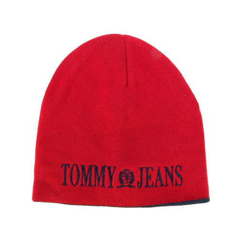 Tommy Jeans gorro 90's - Rojo