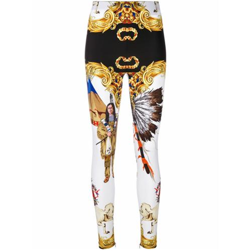 Imagen principal de producto de Versace leggins Native Americans - Blanco - Versace