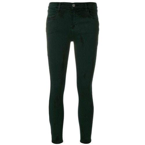 Imagen principal de producto de J Brand pantalones pitillo - Verde - J Brand
