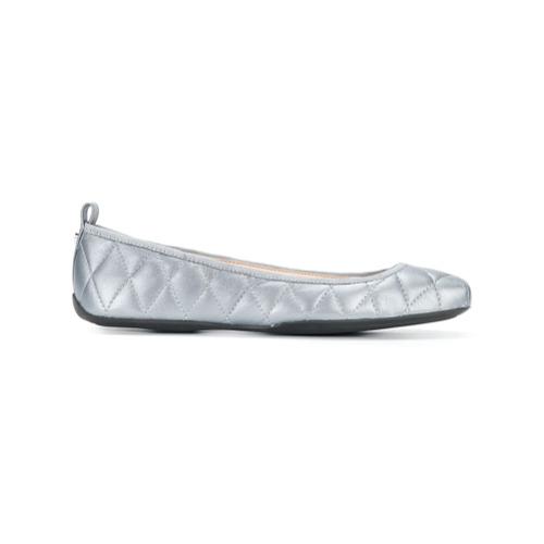Imagen principal de producto de DKNY bailarinas planas acolchadas - Gris - DKNY