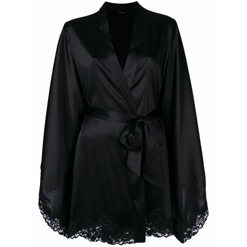 Imagen principal de producto de La Perla kimono corto Azalea - Negro - La Perla
