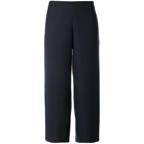 Imagen principal de producto de Roberto Collina pantalones capri de talle alto - Azul - Roberto Collina