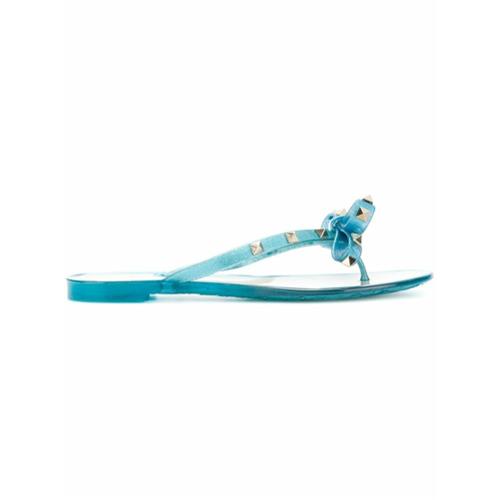 Imagen principal de producto de Valentino chanclas Rockstud - Azul - Valentino