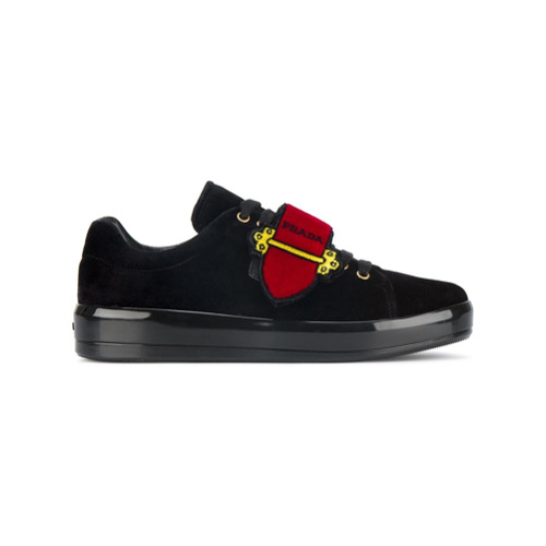 Imagen principal de producto de Prada zapatillas Cahier - Negro - Prada