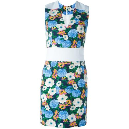 Imagen principal de producto de Carven vestido ajustado con motivo floral - Blanco - Carven