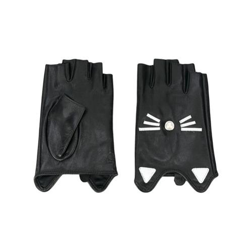 Imagen principal de producto de Karl Lagerfeld guantes Choupette - Negro - KARL LAGERFELD