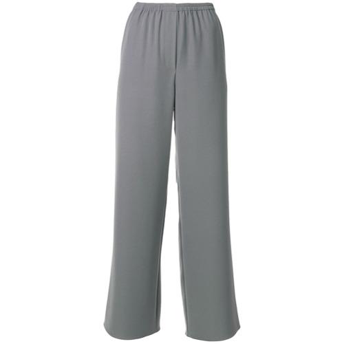 Imagen principal de producto de Emporio Armani pantalones acampanados - Gris - Emporio Armani
