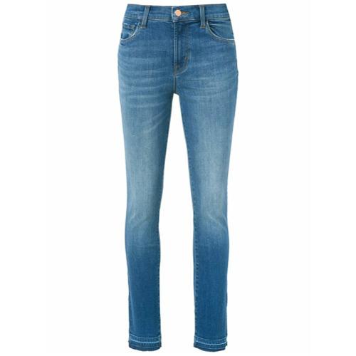 Imagen principal de producto de J Brand washed skinny jeans - Azul - J Brand