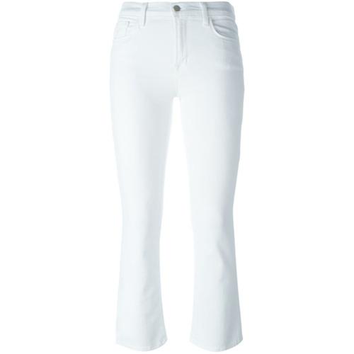 Imagen principal de producto de J Brand pantalones de corte pitillo - Blanco - J Brand