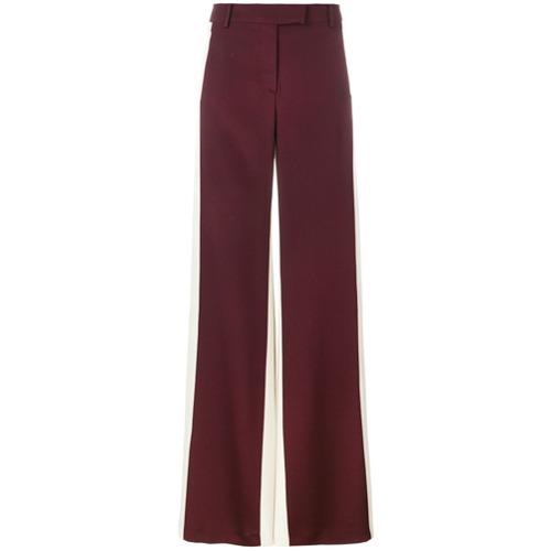 Imagen principal de producto de Valentino pantalones palazzo con diseño colour block - Rojo - Valentino
