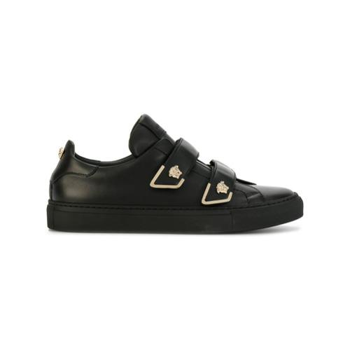 Imagen principal de producto de Versace zapatillas Medusa con cierre autoadherente - Negro - Versace