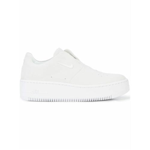 Imagen principal de producto de Nike zapatillas Air Force One sin cordones - Gris - Nike