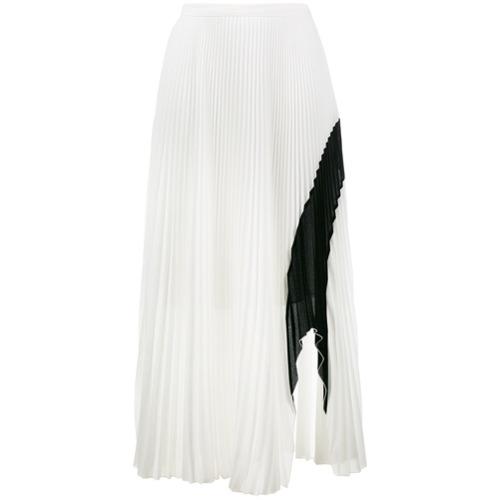Imagen principal de producto de Proenza Schouler Crepe Pleated Skirt - Blanco - Proenza Schouler