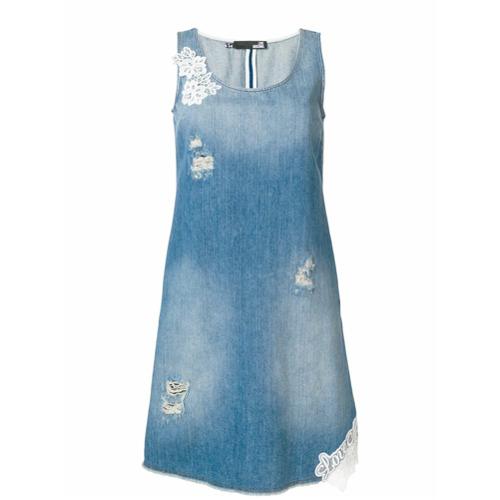 Imagen principal de producto de Love Moschino vestido vaquero sin mangas - Azul - Moschino