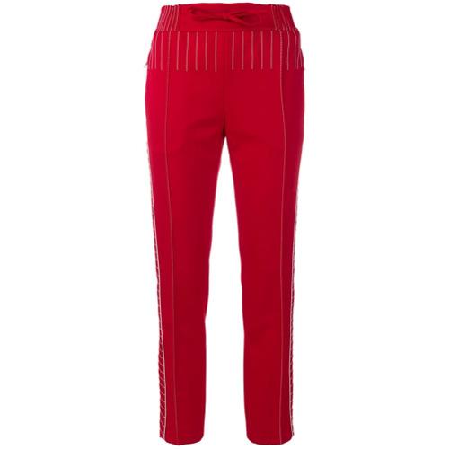 Imagen principal de producto de Valentino pantalones con costuras en contraste - Rojo - Valentino