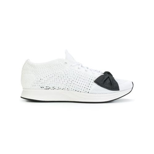 Imagen principal de producto de Nike zapatillas Fly Knit Racer de Nike x Comme des Garçons - Blanco - Nike