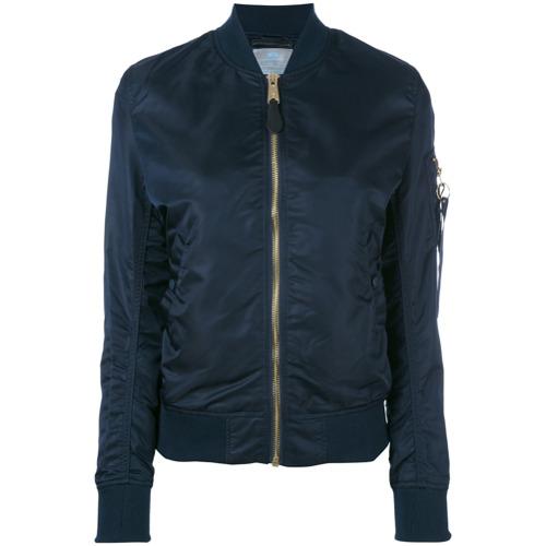 Imagen principal de producto de Alpha Industries chaqueta bomber con bolsillo en el brazo - Azul - Alpha Industries