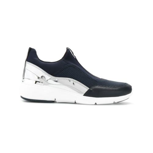 Imagen principal de producto de Michael Michael Kors zapatillas Ace con detalle metalizado - Azul - MICHAEL Michael Kors