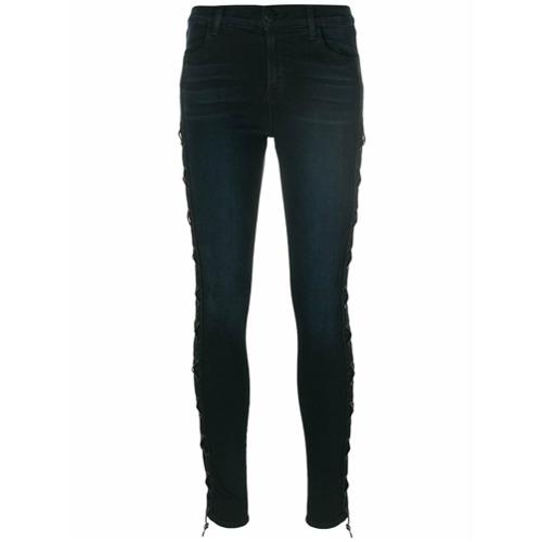Imagen principal de producto de J Brand pantalones pitillo - Negro - J Brand