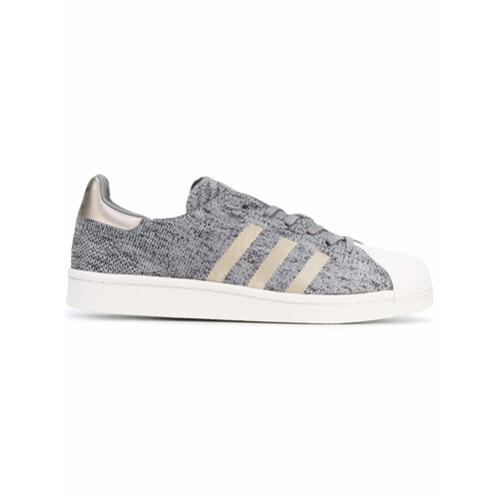 Imagen principal de producto de Adidas zapatillas Superstar Boost - Gris - Adidas