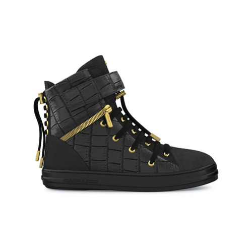Imagen principal de producto de Swear zapatillas altas Regent - Negro - Swear
