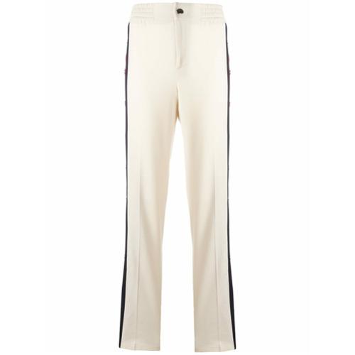 Imagen principal de producto de Gucci pantalones con botón de presión - Blanco - Gucci