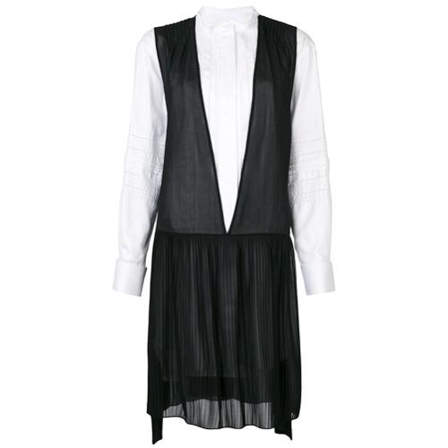 Imagen principal de producto de Burberry vestido camisero - Blanco - Burberry