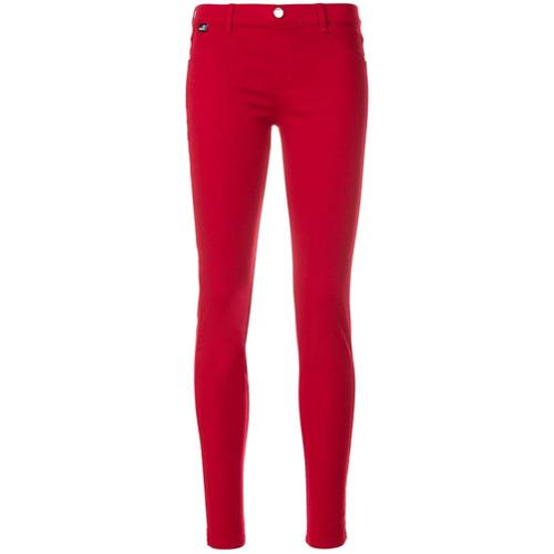 Imagen principal de producto de Love Moschino pantalones de corte slim - Rojo - Moschino