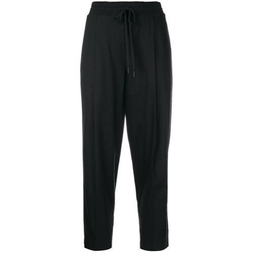 Imagen principal de producto de DKNY pantalones tobilleros clásicos - Negro - DKNY
