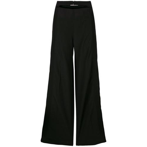 Imagen principal de producto de Valentino pantalones con pinzas y cintura doble - Negro - Valentino