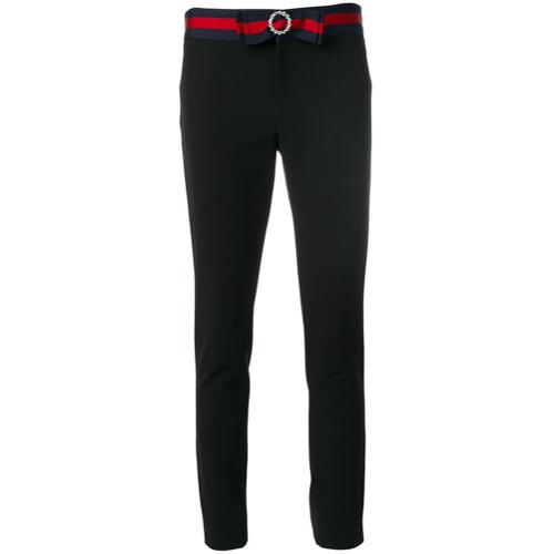 Imagen principal de producto de Gucci pantalones capri Web - Negro - Gucci