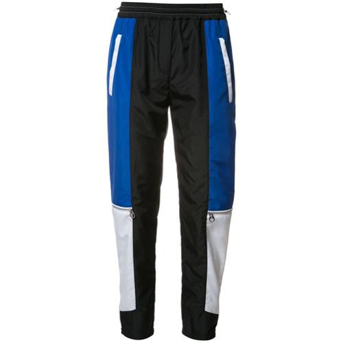 Imagen principal de producto de Versace pantalones de chándal en paneles colour block - Negro - Versace