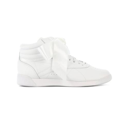Imagen principal de producto de Reebok zapatillas Freestyle Hi Satin Bow - Blanco - Reebok
