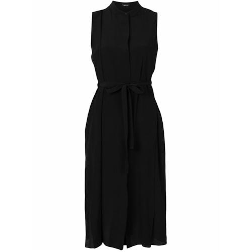 Imagen principal de producto de Jil Sander Navy vestido camisero con cinturón - Negro - Jil Sander Navy
