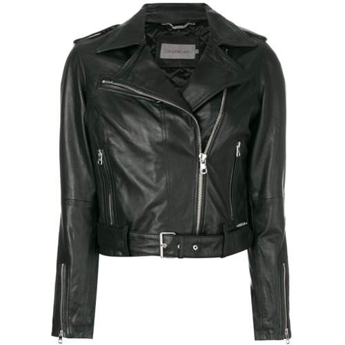 Imagen principal de producto de Calvin Klein Jeans chaqueta biker - Negro - Calvin Klein