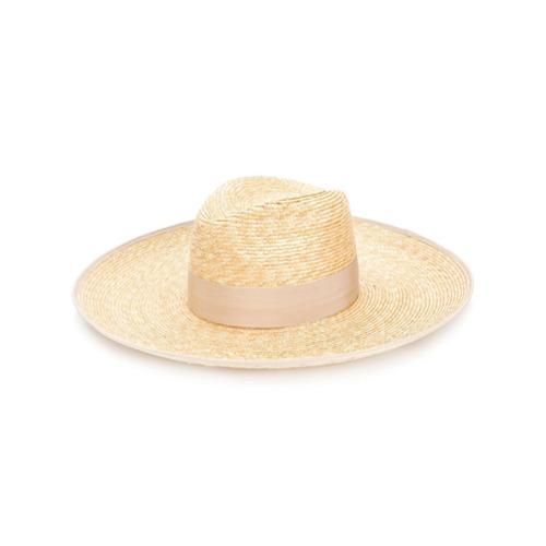 Gucci sombrero Moon entretejido - Nude Y Neutro