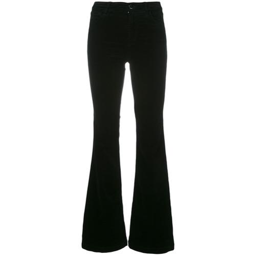 Imagen principal de producto de J Brand pantalones acampanados Martin - Negro - J Brand