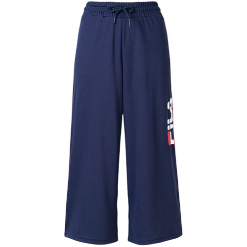 Imagen principal de producto de Fila pantalones deportivos de pierna ancha - Azul - Fila