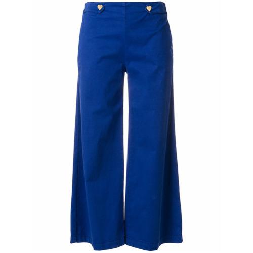Imagen principal de producto de Love Moschino pantalones anchos estilo capri - Azul - Moschino