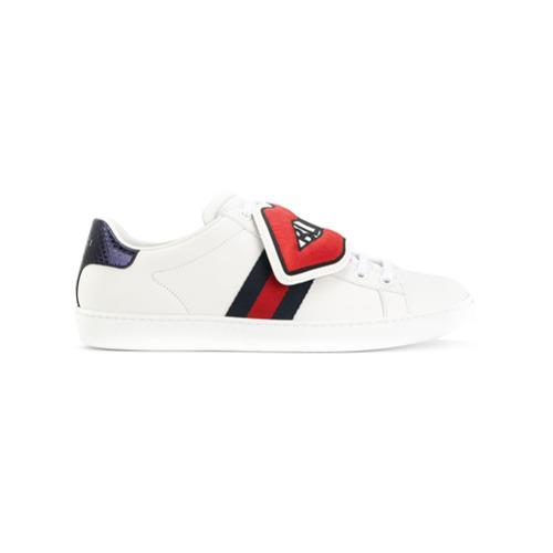 Imagen principal de producto de Gucci zapatillas con parche Blind for Love - Blanco - Gucci